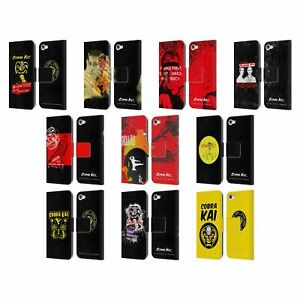 OFFICIAL COBRA KAI COMPOSED ART LEATHER BOOK CASE FOR APPLE iPOD TOUCH MP3