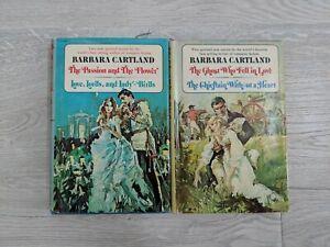 Barbara Cartland Lot of 2 Hardcover Books 2 in 1 - 4 Novels 1978 - E. P. Dutton