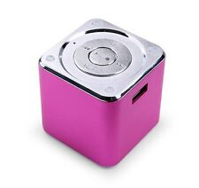 Mini Music Angel Digital Speaker for PC USB Micro SD TF Card FM MP3 MD07U Rose