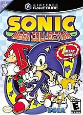 Sonic Mega Collection (Nintendo GameCube, 2002) preowned instruction book enclud