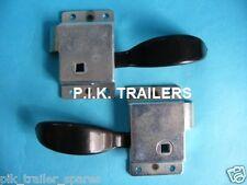 FREE P&P* Door Slam Locks LH & RH for Trailers Horse box & Caravans