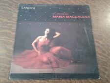 maxi 45 tours sandra maria magdalena (i'll never be)