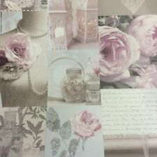 Charlotte Blush SHABBY CHIC Carta da Parati da Arthouse 665200