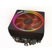 AMD AM4 Wraith Prism Cooler - Up to 105W with RGB LED Ring - Genuine