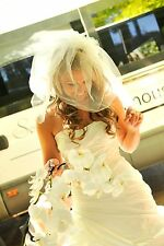 HOBNOB Wedding dress: size 8-10