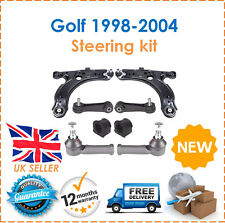 For VW Golf MK4 98-04 Lower Wishbone Arms Ball Joints D Bushes Track Rod Ends