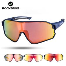 Men Sport Sunglasses Driving Eyewear Mtb Road Bike UV 400 Protection Anti Glare