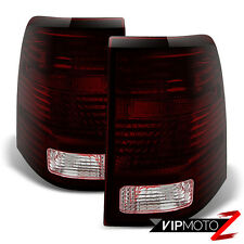 "2002 2003 2004 2005 Ford Explorer ""DARK RED SMOKE"" Rear Brake Tail Lights Lamps"