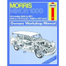 Morris Minor 1000 Haynes Manual 1956-71 1.0 1.1 Petrol Workshop