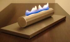 table gel- et cheminée à éthanol acier inoxydable brossé Poêle bio-cheminée NEUF