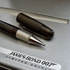 ST Dupont Olympio Limited Edition James Bond 007 Black Rollerball Pen with Laser