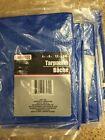 7 Tool Bench Hardware 4' x 6'  Blue Tarp Tarpaulin New in pack