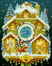 CHRISTMAS CUCKOO CLOCK 1000 PC JIGSAW PUZZLE by VERMONT CHRISTMAS ~ NEW & SEALED