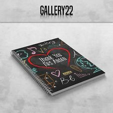 Personalised Teacher Teaching Assistant A5 Notebook End Of Term Gift Subjects