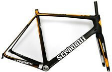STRADALLI RS ORANGE CARBON FIBER ROAD BIKE BICYCLE FRAME FRAMESET 57CM L LARGE