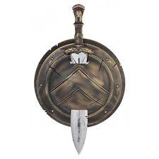 Spartan Shield and Sword Toy Greek Warrior Costume Halloween Fancy Dress