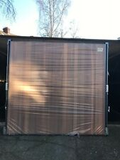 "7'5 x 7'0"" Hormann 2009 Vertical Timber Basecoat Treated Retractable Garage Door"
