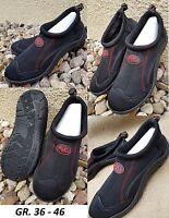 Badeschuhe Neopren Strand Schuhe Wasser Schwarz Surfschuhe Stand up Paddling NEU
