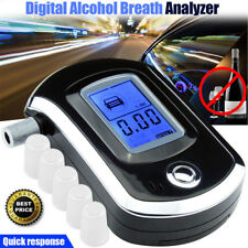 Mini Digital Alcohol Breath Tester Breathalyzer Analyzer Detector Test+Batteries