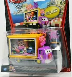 CARS 2 DELUXE TAIA DECOTURA JAPANESE TV SCREEN LIGHTNING MCQUEEN COLLECTABLE MOC