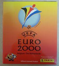 PANINI UEFA EURO 2000 BELGIUM-The Netherlands-vide Sticker Album