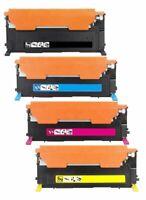 4Pk CLT-K407S CLT-407S Toner Cartridge For Samsung CLX-3180 CLX-3185FW CLX-3185N