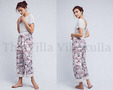 """New Anthropologie """"Dream Land"""" Flannel Sleep Pant ~ Storybook By Lilka ~XL"""