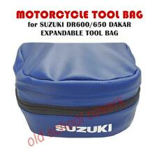 Suzuki DR600 DR650 Dakar Erweiterbar Replik Blau Werkzeug Tasche