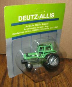 Deutz Allis 6265 Tractor w/ DUAL Rear Wheels 1/64 Scale Models Toy DA New 1980s
