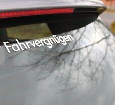 LARGE FAHRVERGNUGEN DECAL STICKER Euro Lowered Drift Stance Illest Fresh