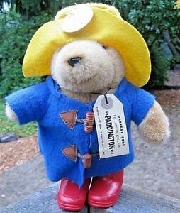 "1988  10"" Plush Paddington Bear Eden Toys 30th Anniversary...new condition!"
