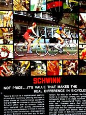 1975 Schwinn Continental 10 SPEED Original Print Ad 8.5 x 11""
