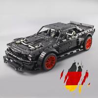 Custom Technic Mustang Hoonicon V2 42056 42083 Blöcke Bausteine MOC 3.176 Teile