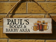 PERSONALISED NAME SIGN BOOZE SIGN GIFTS FOR HIM MENS GIFTS UNIQUE GIFTS BREW ALE