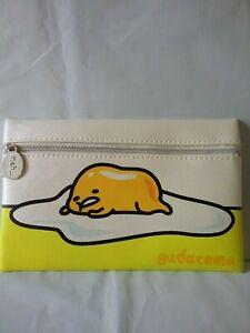Ipsy Gudetama Sanrio Lazy Egg Makeup Cosmetic Pouch Bag