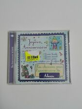 CD Audio Joyeusc Anniversaire Alexis  (A 03)  Idioma Frances.