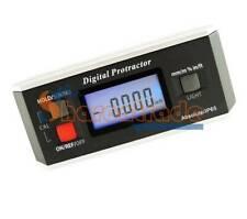 Electronic Digital Protractor V-Groove Base Machine Automotive Tool