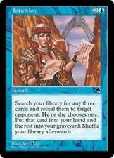INTUITION Tempest MTG Blue Instant RARE