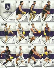 2018 select LEGACY FREMANTLE DOCKERS COMMON TEAM SET 12 cards SERIES 2 AFL