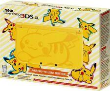 Nintendo NEW 3DS XL Pokemon Pikachu Yellow Edition Fast shipping