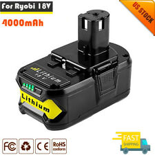 18 VOLT P108 for RYOBI 18V ONE PLUS Lithium-Ion High Capacity Battery 4.0Ah New