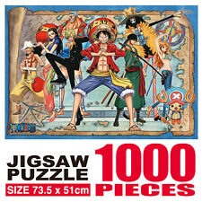 One Piece Animation Jigsaw Puzzle 1000P Ready to Move