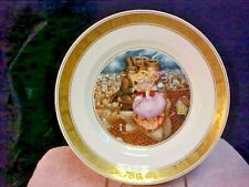 Royal Copenhagen Hans Christian Andersen Plate The Shepherdess&the Chimney Sweep