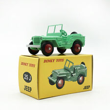 1/43 DINKY TOYS 25J JEEP DeAgostini Car Model Die Cast Gift Collection Green