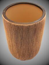 Übertopf, Vase, Keramik, Struktur-Patina Optik, 21,5 x 14,5 cm