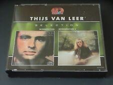 Thijs Van Leer Selection Introspection/Introspection 2 Sony 2 in 1 CD box
