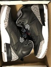 Air Jordan Spizike 315371-034 Black Varsity Red Cement Grey Mens Shoes Size 9