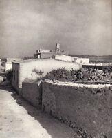 """Pierre Boucher - Paysage d'Afrique du Nord - Photogravure in  """" AMG 1937 """""""
