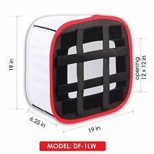Kamerar D-Fuse Large DF-1LW White LED Light Panel Softbox: 12 in x 12 in Opening