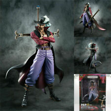 One Piece POP DX Dracule Mihawk PVC Figure Megahouse Ver.2 Collection Model Toy#